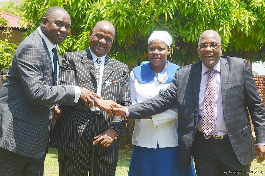Dr Be Lekganyane: Religious Leader Visits Musina